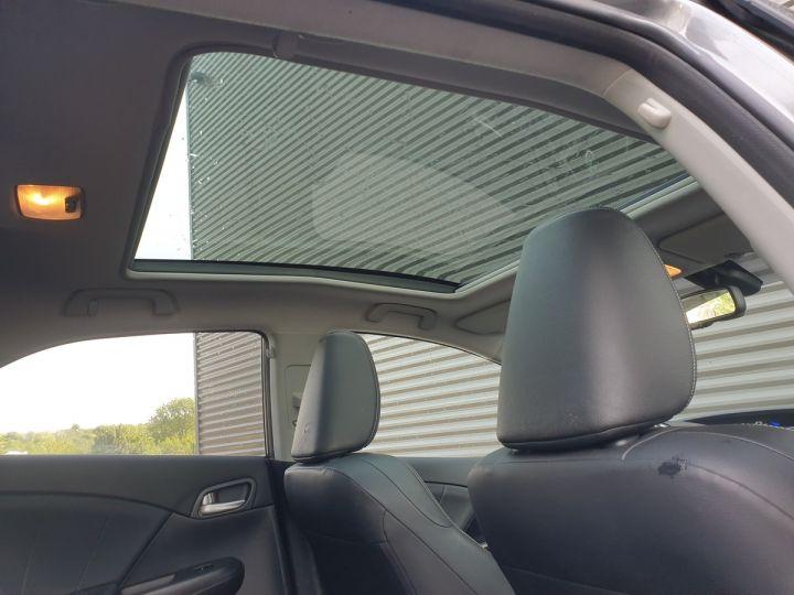 Honda Civic 9 2.2 dtec 150 exclusive navi bv6 Gris Foncé Occasion - 5