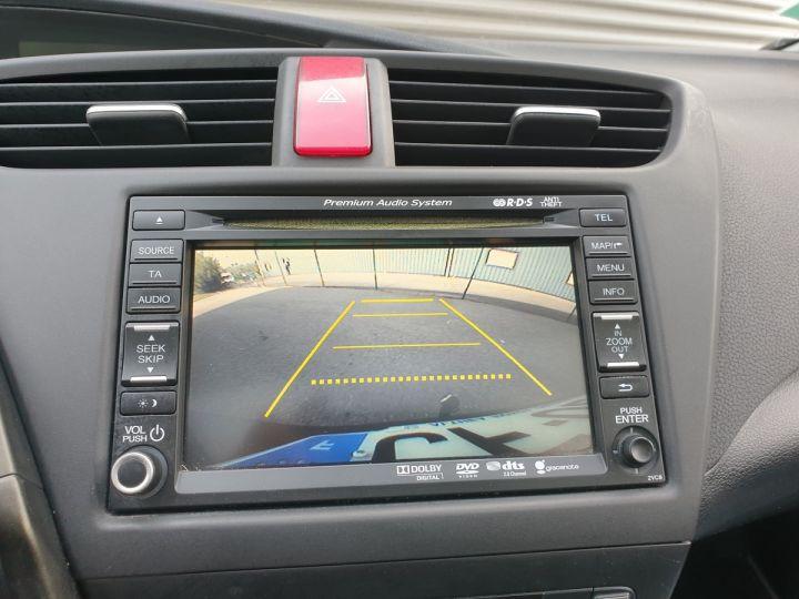 Honda Civic 9 2.2 dtec 150 exclusive navi bv6 Gris Foncé Occasion - 7