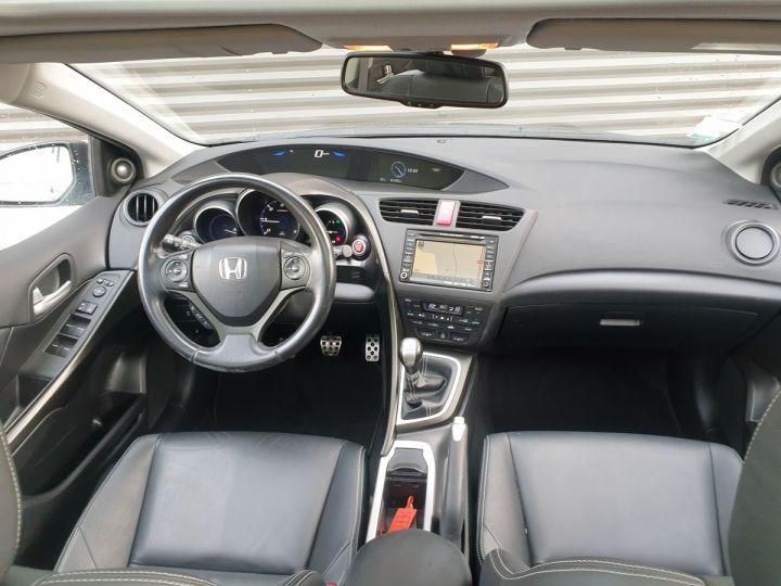 Honda Civic 9 2.2 dtec 150 exclusive navi bv6 Gris Foncé Occasion - 8