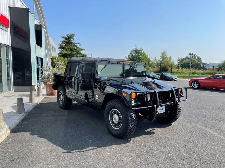 Hummer H1 Alpha Duramax 6.6L Turbo Diesel Pick Up Noir - 3