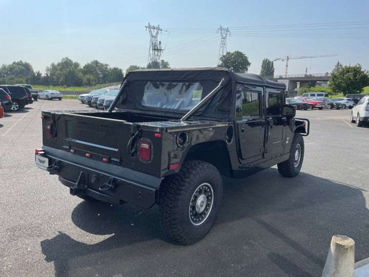 Hummer H1 Alpha Duramax 6.6L Turbo Diesel Pick Up Noir - 5