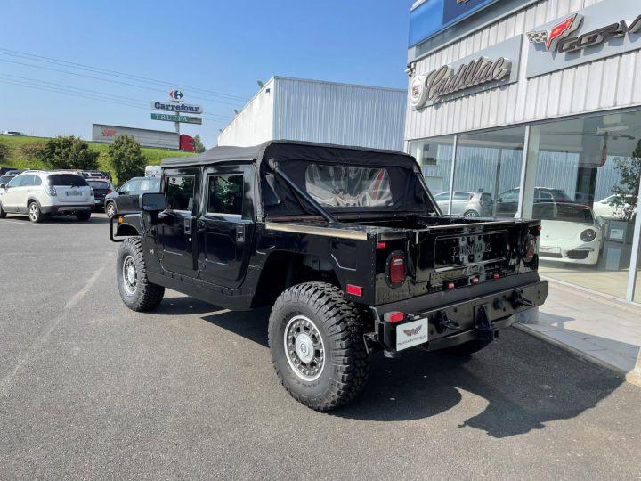Hummer H1 Alpha Duramax 6.6L Turbo Diesel Pick Up Noir - 7