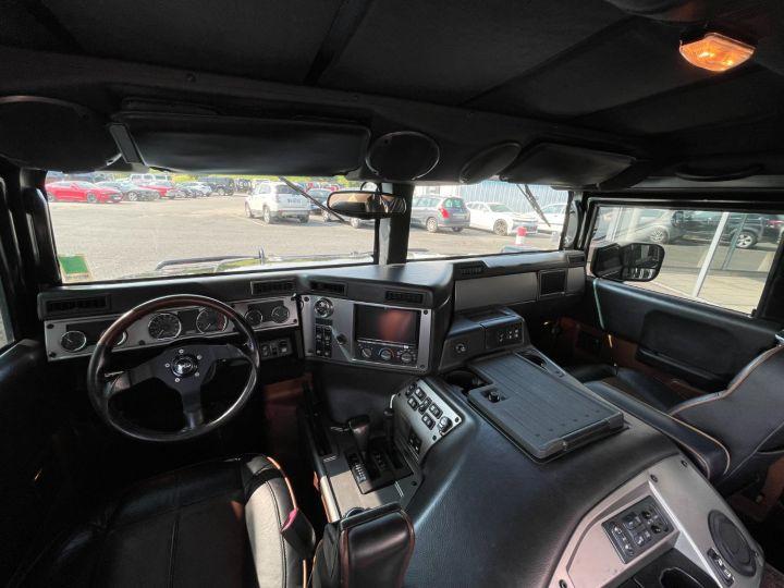 Hummer H1 Alpha Duramax 6.6L Turbo Diesel Pick Up Noir - 9