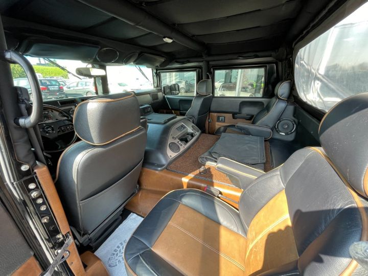 Hummer H1 Alpha Duramax 6.6L Turbo Diesel Pick Up Noir - 10