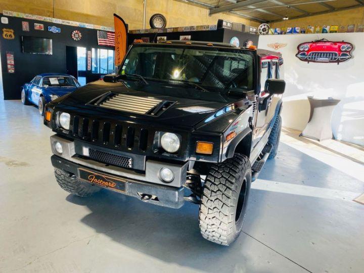 Hummer H2 6.0 V8 AMGENERAL Noir - 3