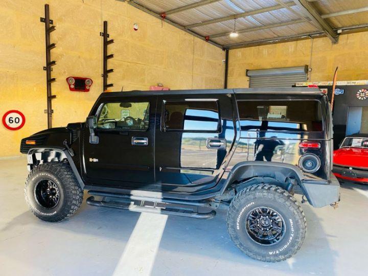 Hummer H2 6.0 V8 AMGENERAL Noir - 4