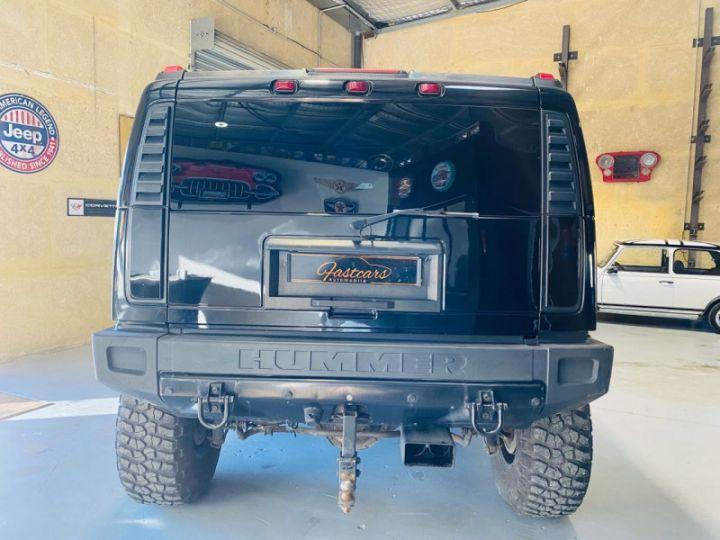 Hummer H2 6.0 V8 AMGENERAL Noir - 6