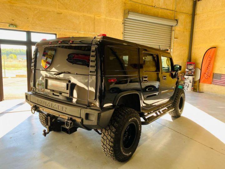 Hummer H2 6.0 V8 AMGENERAL Noir - 7