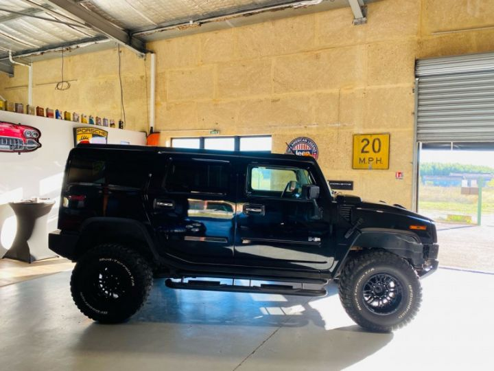 Hummer H2 6.0 V8 AMGENERAL Noir - 8