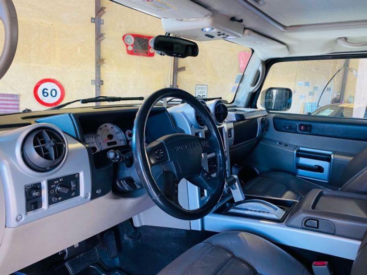 Hummer H2 6.0 V8 AMGENERAL Noir - 12