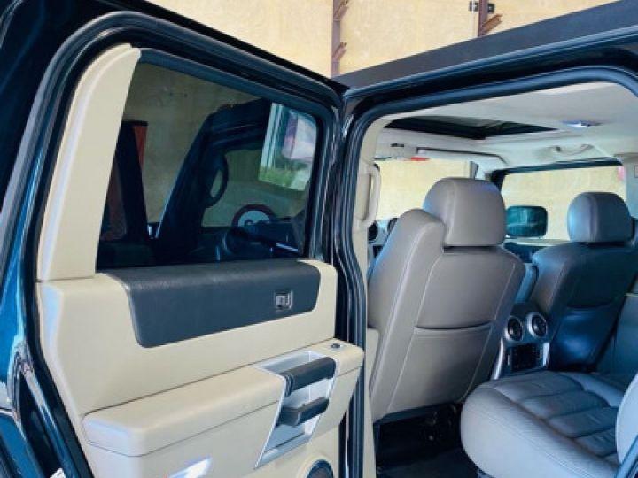 Hummer H2 6.0 V8 AMGENERAL Noir - 15