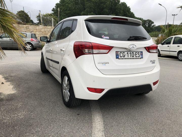 Hyundai ix20 1.6 CRDI115 EURO 2012 Blanc - 2