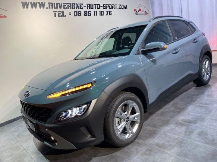 Hyundai Kona 1.0 T -GDI 120 HYBRID 48 CREATIVE GRIS FONCE - 1