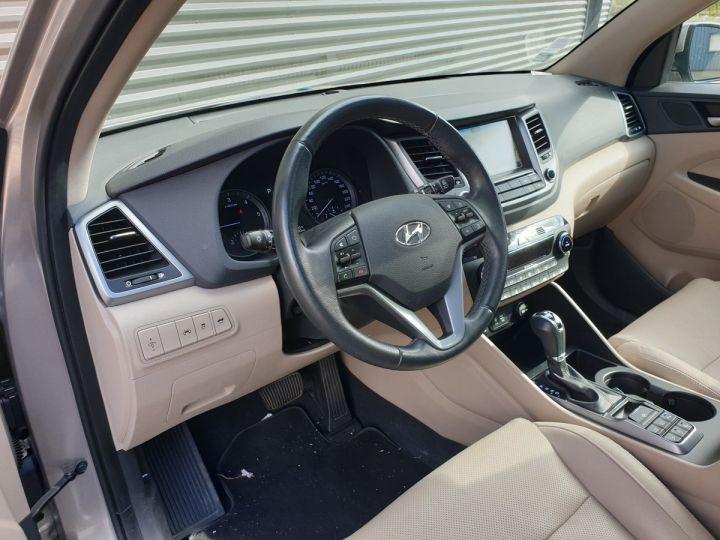 Hyundai TUCSON 3 III 1.7 CRDI 141 EXECUTIVE DCT7 o Gris Métallisé Occasion - 7