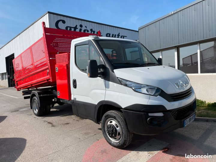 Iveco DAILY 35-14 benne paysagiste + coffre  - 1