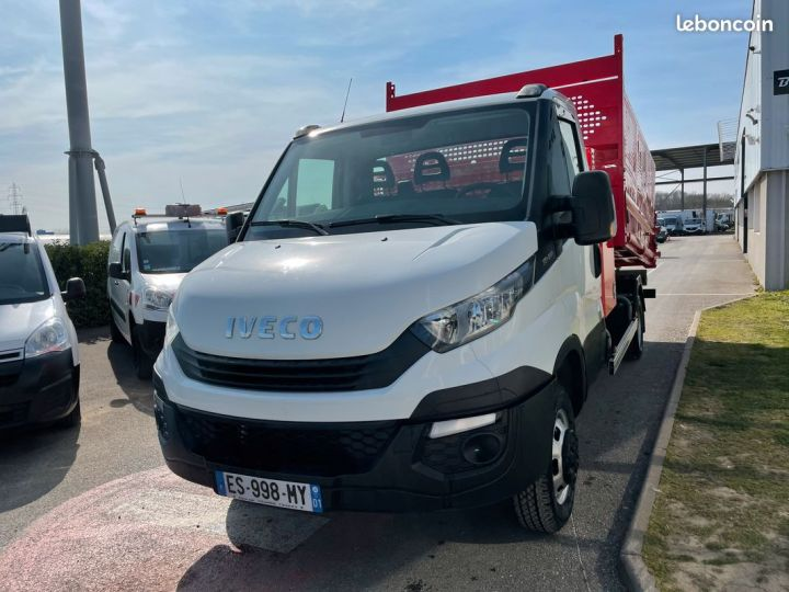 Iveco DAILY 35-14 benne paysagiste + coffre  - 2