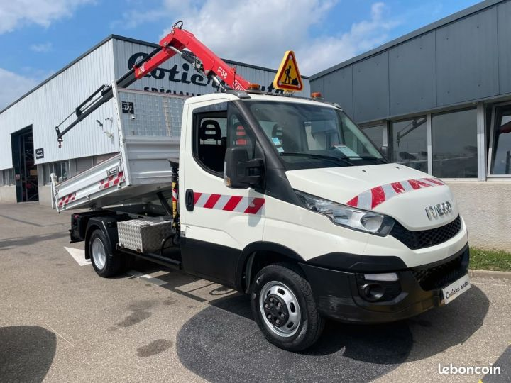 Iveco Daily 35-15 benne grue fassi F38  - 1