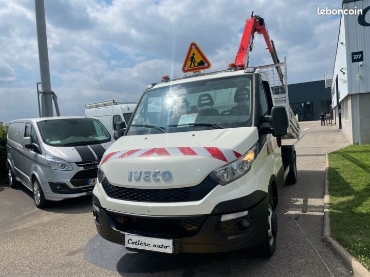 Iveco Daily 35-15 benne grue fassi F38  - 2