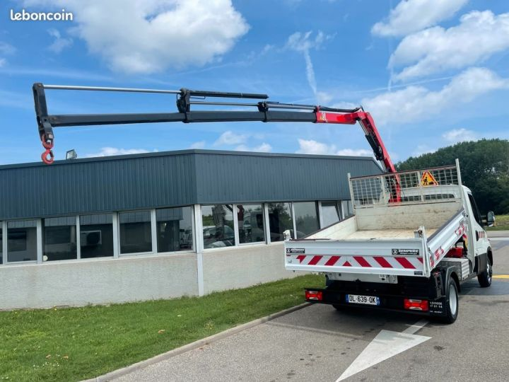 Iveco Daily 35-15 benne grue fassi F38  - 4