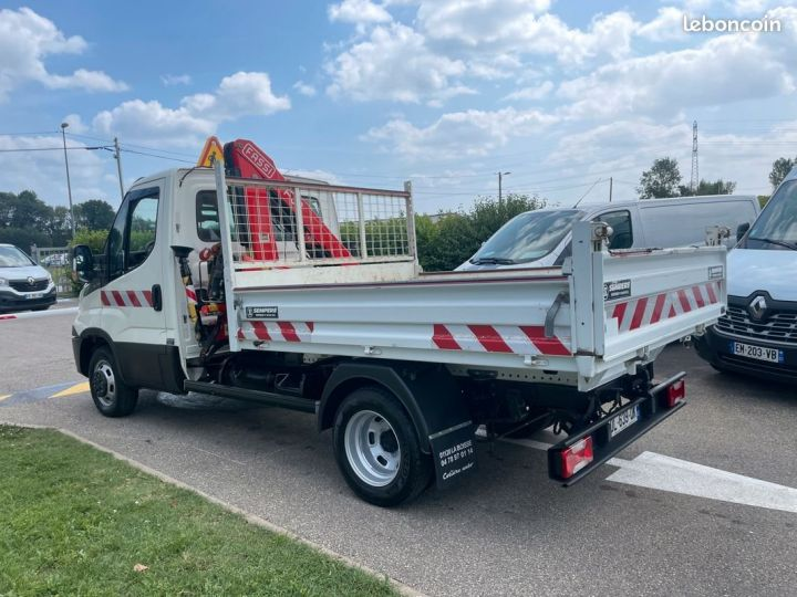Iveco Daily 35-15 benne grue fassi F38  - 7