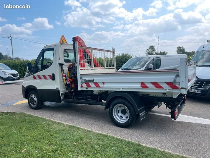 Iveco Daily 35-15 benne grue fassi F38  - 8