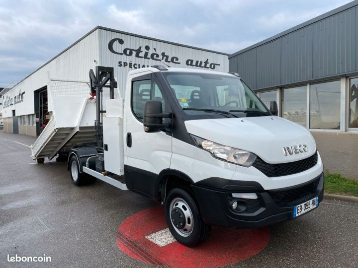 Iveco DAILY 35-17 polybenne coffre 24.000km  - 1