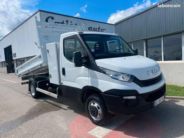 Iveco DAILY 35c14 benne coffre 2017  - 1