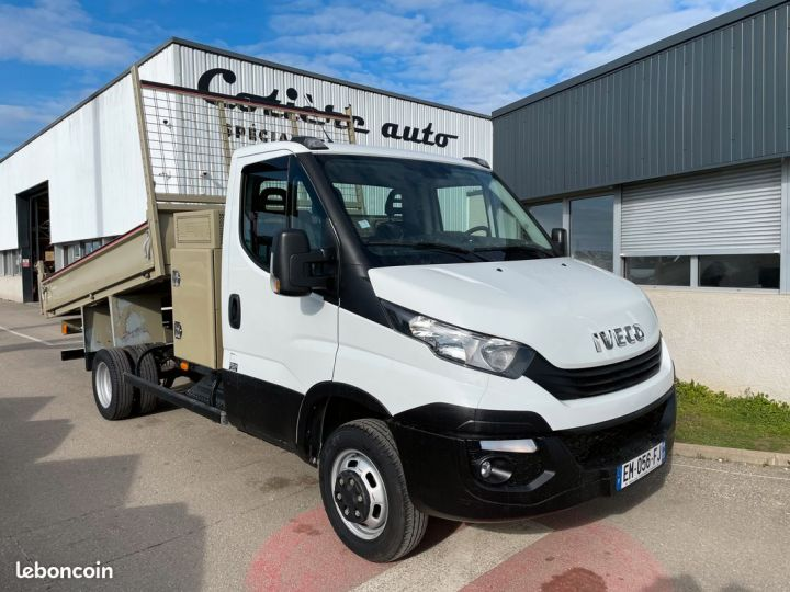 Iveco DAILY 35c15 benne coffre 2017  - 1