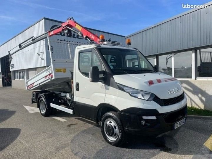 Iveco Daily 35c15 benne grue FASSI F38  - 1