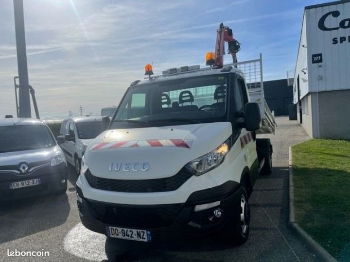 Iveco Daily 35c15 benne grue FASSI F38  - 2