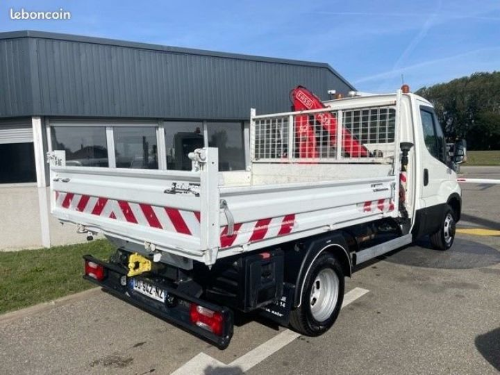 Iveco Daily 35c15 benne grue FASSI F38  - 9