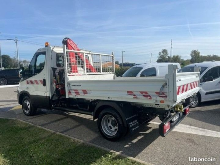 Iveco Daily 35c15 benne grue FASSI F38  - 10