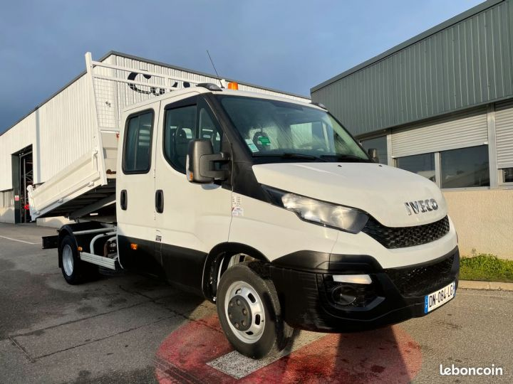 Iveco DAILY double cabine benne 7 places 35-13  - 1