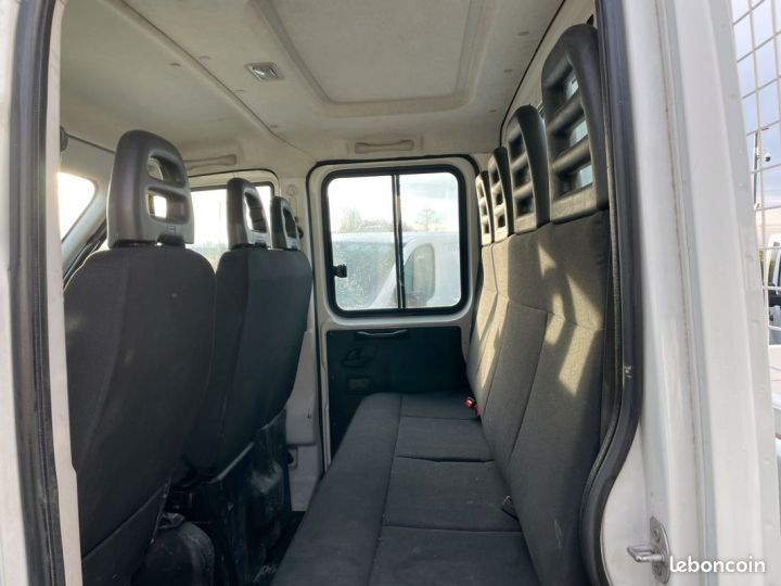 Iveco DAILY double cabine benne 7 places 35-13  - 4