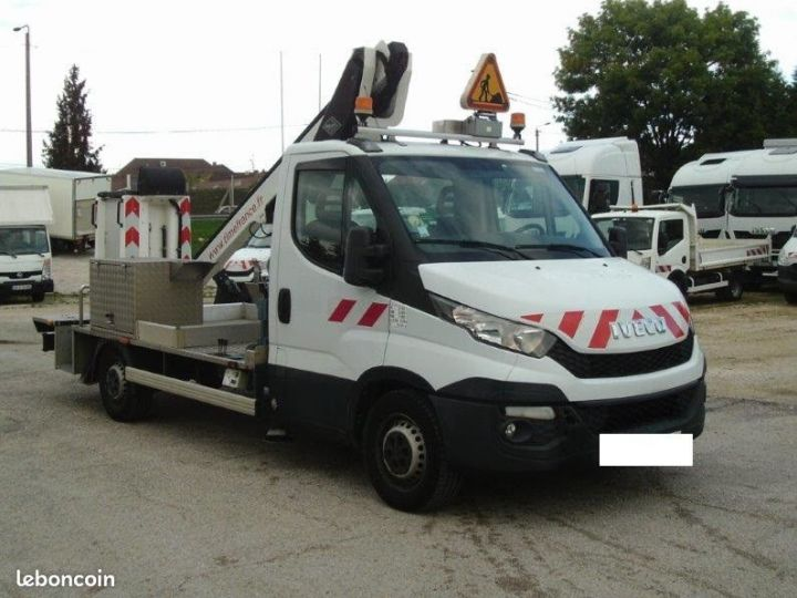 Iveco DAILY nacelle Time france 13m 63.000km  - 1