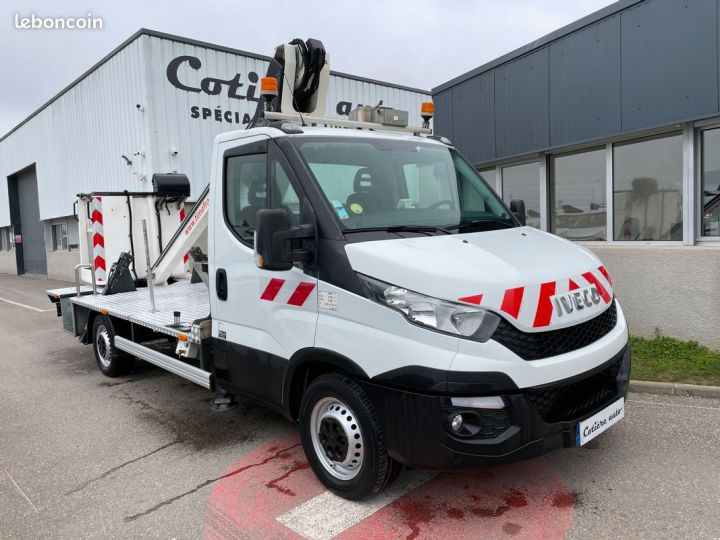 Iveco DAILY nacelle time france 13m panier 2 personnes  - 1