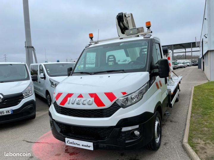 Iveco DAILY nacelle time france 13m panier 2 personnes  - 2