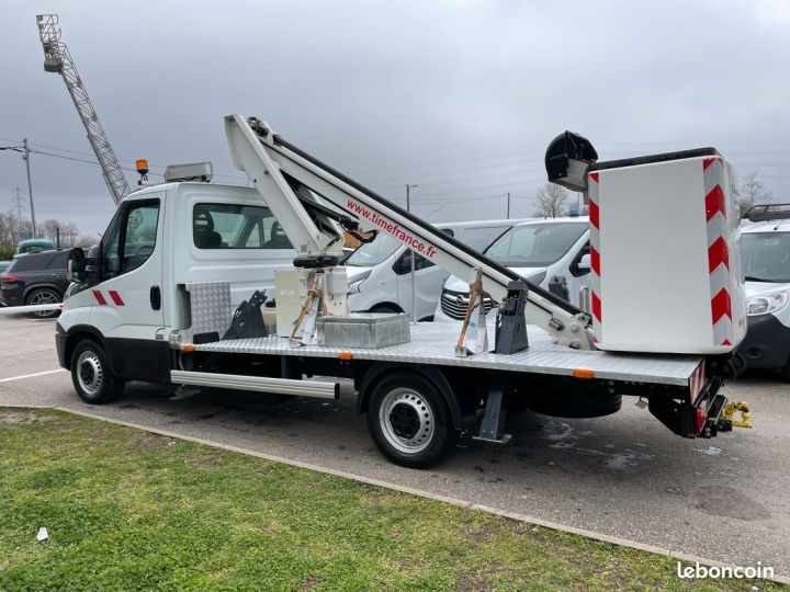 Iveco DAILY nacelle time france 13m panier 2 personnes  - 3
