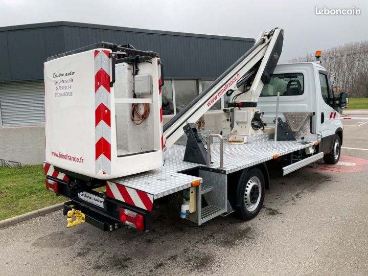 Iveco DAILY nacelle time france 13m panier 2 personnes  - 4
