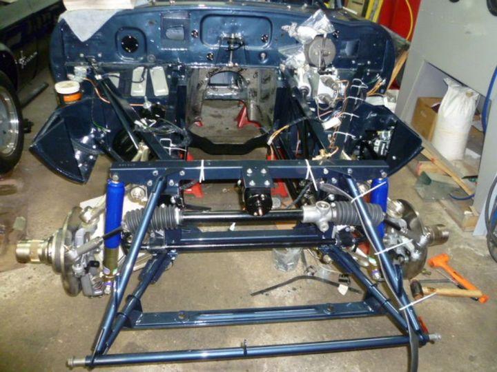 Jaguar E-Type 3.8 L Série 1 BLEUE - 7