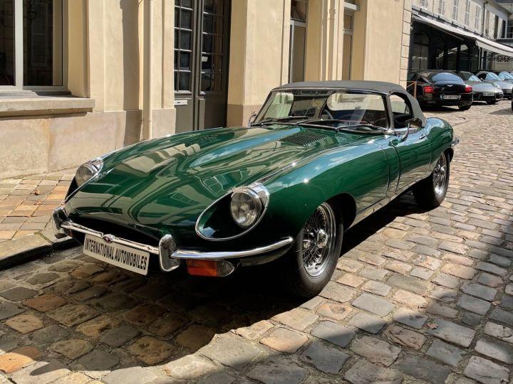 Jaguar E-Type Type-E Cabriolet 4.2 Série 2 Vert - 1