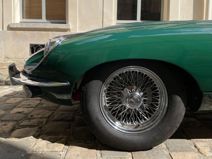 Jaguar E-Type Type-E Cabriolet 4.2 Série 2 Vert - 4