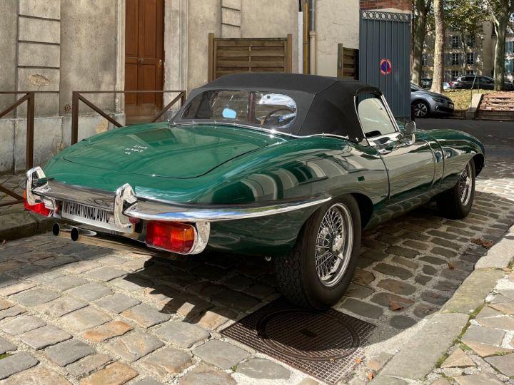 Jaguar E-Type Type-E Cabriolet 4.2 Série 2 Vert - 5