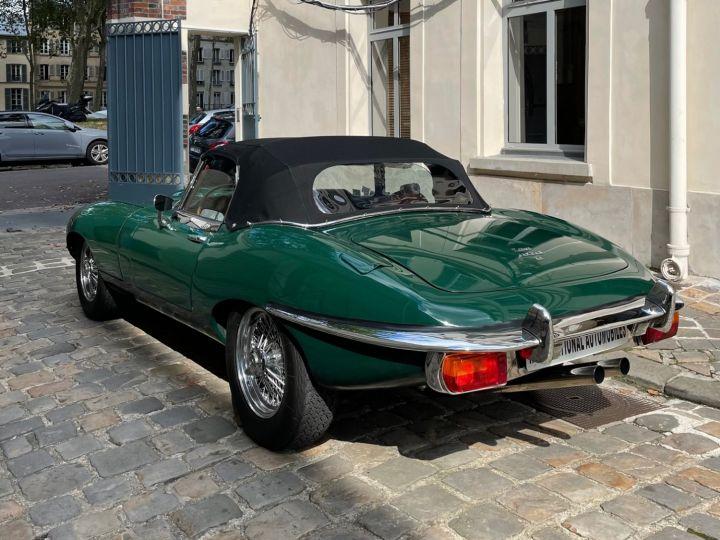 Jaguar E-Type Type-E Cabriolet 4.2 Série 2 Vert - 7