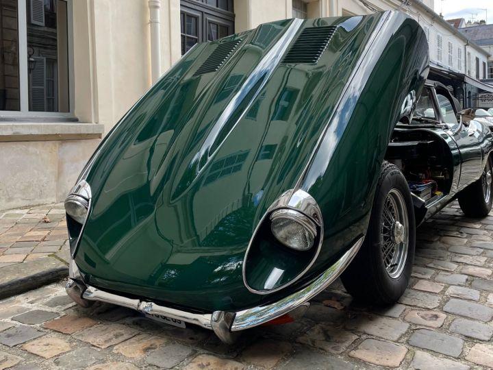 Jaguar E-Type Type-E Cabriolet 4.2 Série 2 Vert - 9