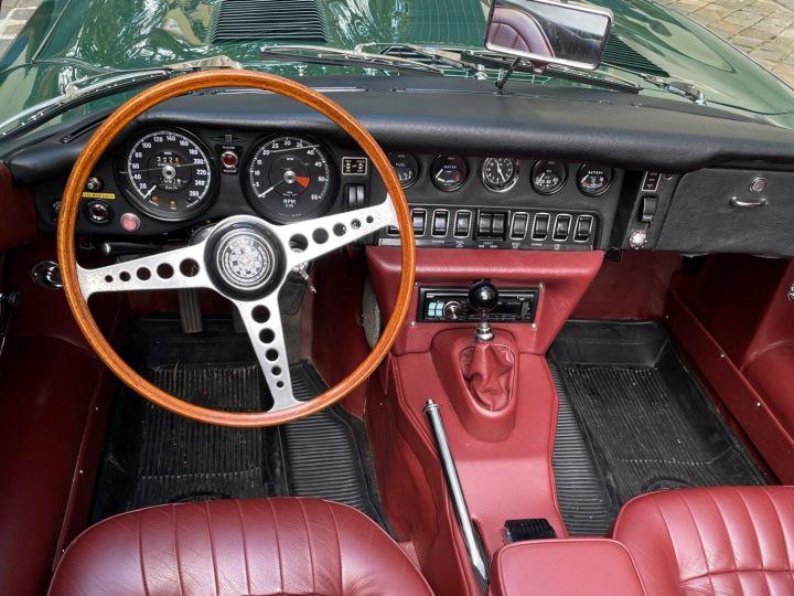 Jaguar E-Type Type-E Cabriolet 4.2 Série 2 Vert - 15