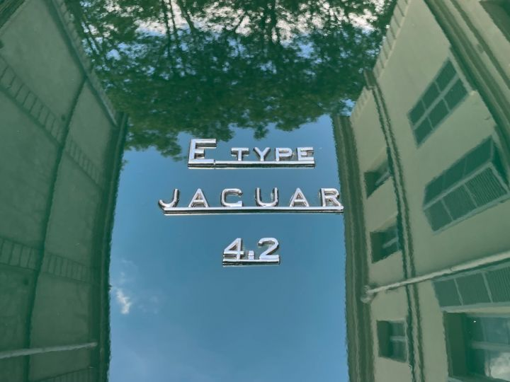 Jaguar E-Type Type-E Cabriolet 4.2 Série 2 Vert - 19