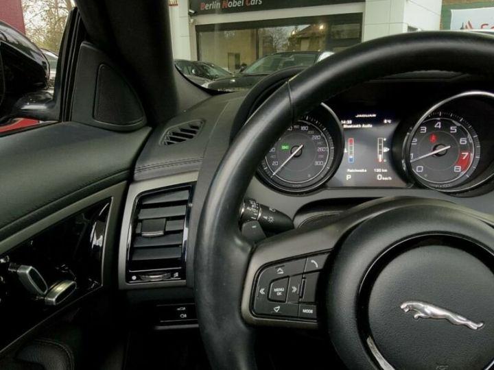 Jaguar F-Type 3.0 V6 340ch BVA8 KOMPRESSOR *Livré & garantie 12 mois inclus* Noir métal - 7