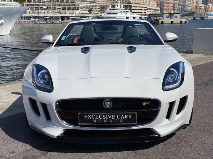 Jaguar F-Type CABRIO 5.0 V8 S 495 CV - MONACO Blanc Polaris Metal - 2