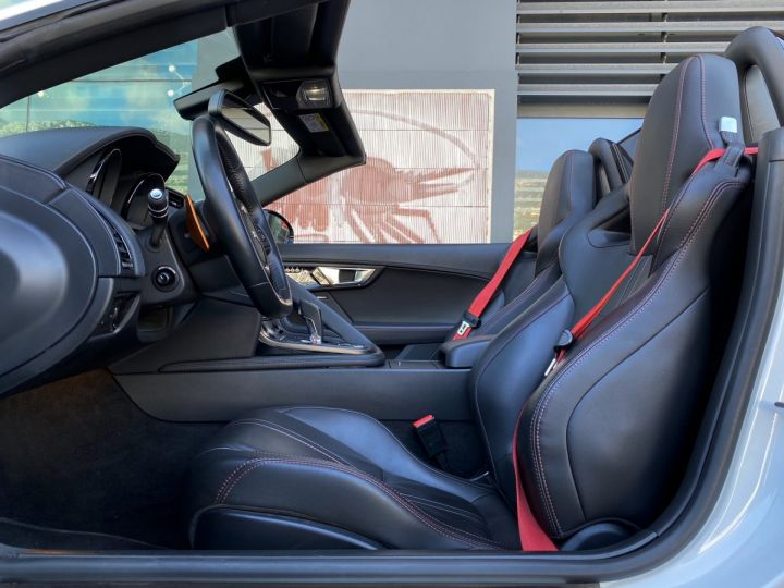 Jaguar F-Type CABRIO 5.0 V8 S 495 CV - MONACO Blanc Polaris Metal - 8
